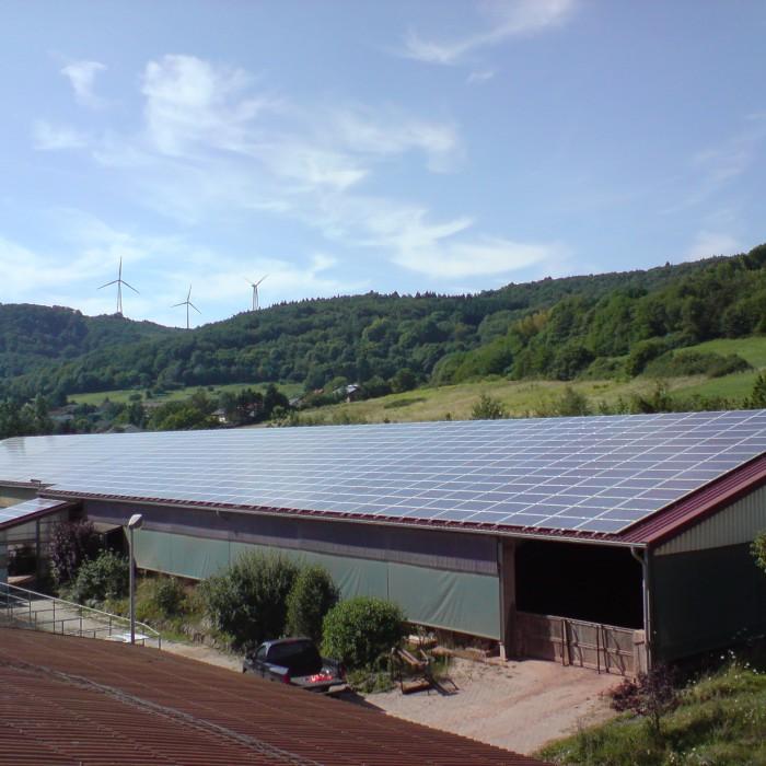 Schimpf Photovoltaikanlage Bauernhof